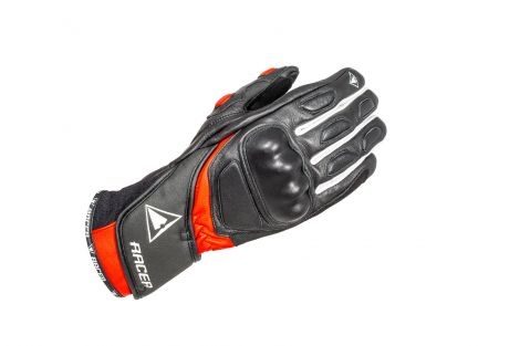 ACTIVE 2 ladies gloves black-white-red