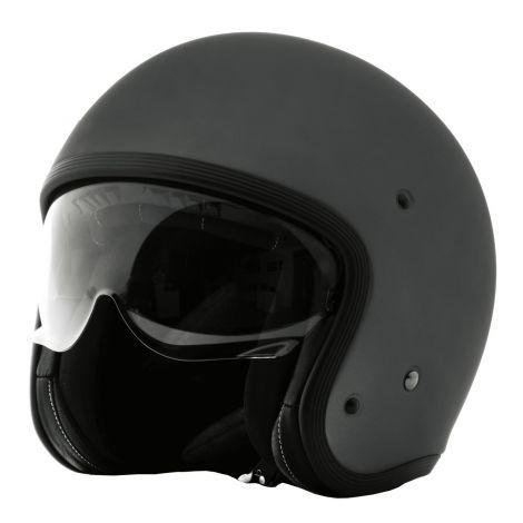 C-149 Open face  Jet helmet mattgrey